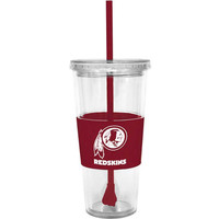 Washington Redskins 22oz. Tumbler with Straw