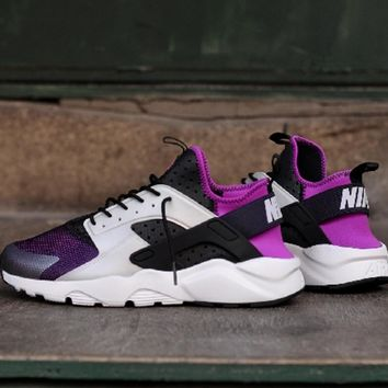 Nike Air Huarache Women Running Sport Casual Shoes Sneakers 587557cbba