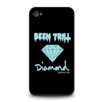 BEEN TRILL DIAMOND BLACK iPhone 4 / 4S Case Cover