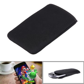 Portable Bag Case for New 3DS LL XL Soft Cloth Carry Wrap Pouch Case Protective Cover for Nintendo New 3DS LL XL Black