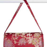 Asia Minor Brocade Purse - Plum