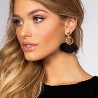 Marry The Night Tassel Earrings