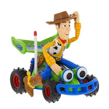 Disney Parks Toy Story Woody Riding RC Pullback Toy New