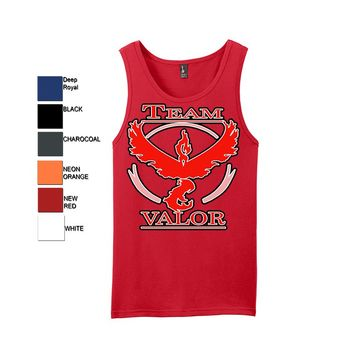 Pokemon Go Team Valor: Red Tank Top