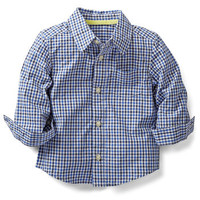relaxed checked shirt