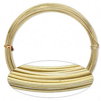 Gold Aluminum WIRE Soft 16 gauge Bendable Wire Wrapping Wholesale Craft Wire Jewelry Supply Bulk Reel CrazyCoolStuff