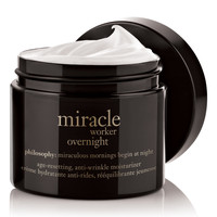 miracle worker | age-resetting, anti-wrinkle moisturizer | philosophy