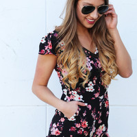 Buy Me Flowers Romper