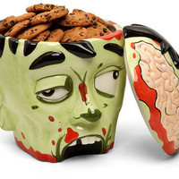 Zombie Head Cookie Jar by Shadow Anime