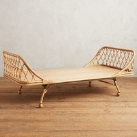 Pari Rattan Daybed by Anthropologie in Natural Size: One Size Furniture