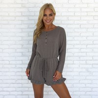 Sweet Dreams Knit Romper