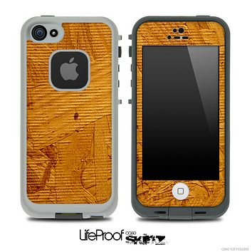 Bright Plywood Skin for the iPhone 5 or 4/4s LifeProof Case