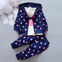 Autumn baby girl / boy clothing sets