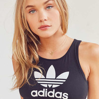 adidas Originals Trefoil Cropped Top | Urban Outfitters
