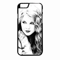 Taylor Swift Art iPhone 6S Plus case