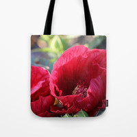 Kingdom Of Red Tote Bag by Theresa Campbell D'August Art