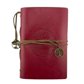 Tree of Life Leather Journal Planner Organizer