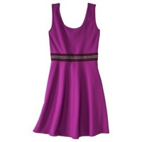 Xhilaration® Junior's Textured Fit & Flare Dress - Assorted Colors
