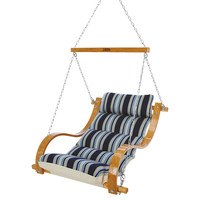 Marquis Single Swing, Blue Stripe, Outdoor Porch Swings