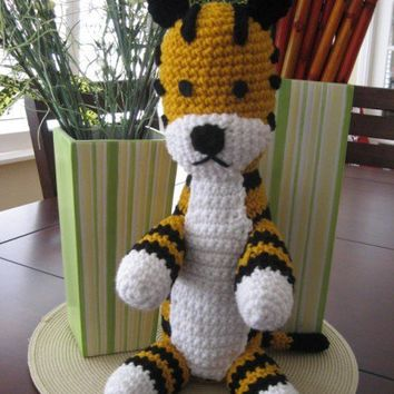 Hobbes Doll Plush Amigurumi by amiamour on Etsy