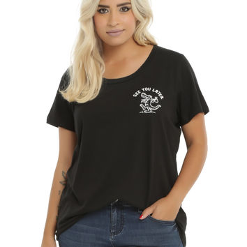 See You Later Gator Girls T-Shirt Plus Size