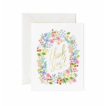 Prairie Thank You Boxed Card Set