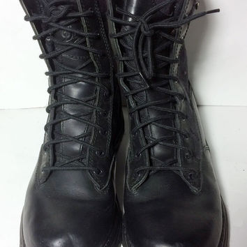 "Danner 42908 Striker GTX 8"" Boots Black Leather Hiking Military Combat Boots Men's Size 9"