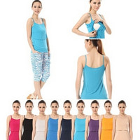 soft! women's comfort modal Maternity nursing Tank Tops summer sleeveless S/M/L/XL/2XL = 1946024068