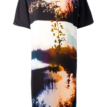 Mary Katrantzou Sunset Print 'Woodstock' Shift Dress