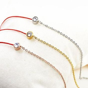 ca PEAPTM4 Shiny Cute New Arrival Gift Sexy Stylish Jewelry Ladies Titanium Simple Design Anklet [11030793031]