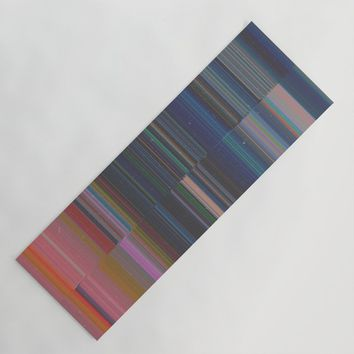 scanner stripes Yoga Mat by duckyb