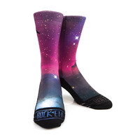 Rock Em Elite Originals Area 72 Galaxy Crew Socks