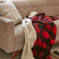 Woolrich Sherpa Rough Rider Throw Blanket