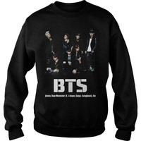 BTS rap monster and jimin shirt Sweat Shirt
