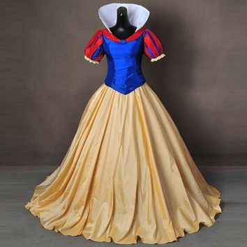 DCCKHY9 Snow White Costume for adult Halloween Costumes for women Snow queen Costume party princess dresses