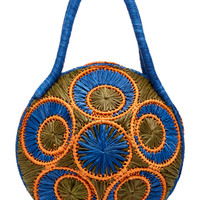 Saba Raffia Shoulder Bag | Moda Operandi