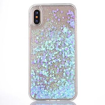 Water and Glitter - Pretty iPhone Case SE, 6 & 6+ up to iPhone 8 and iPhone 8 Plus