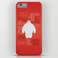 Hello, I'm Baymax iPhone & iPod Case by Dorothy Timmer