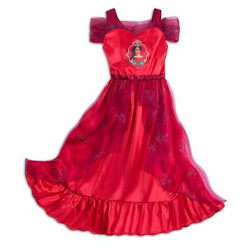 Original Disney Store Elena of Avalor Nightgown Dress for Girs, Tweens Size: 9/10