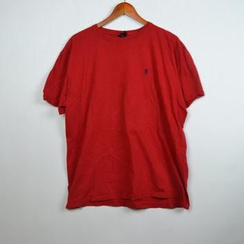 Red Polo Ralph Lauren T-Shirt