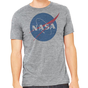 NASA circle logo shirt