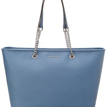 Michael Michael Kors Jet Set Multifunction Leather Tote