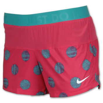 Women's Nike Icon Printed Woven Two-In-One Running Shorts