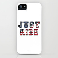 just ride (Lana Del Rey lyrics) iPhone & iPod Case by daniellebourland
