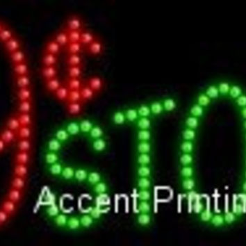 99 Cent Store LED Sign (High Impact, Energy Efficient)