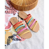 musse & cloud - jazzy slip on sandals - multi