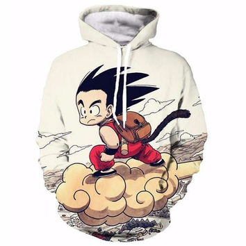 Anime Dragon Ball Z Pocket Hoodie