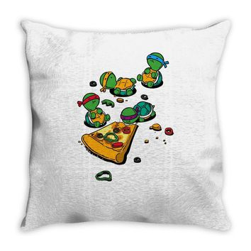 pizza lover Throw Pillow