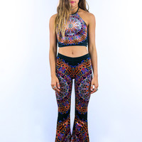 Spirit Molecule Bell Bottoms - Liberated Heart