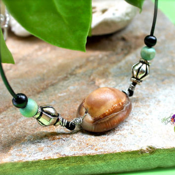 Hawaii Shell Jewelry from North Shore, Oahu - Hawaiian Necklace for men by Mermaid Tears